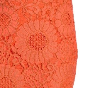 Trina Turk Skirts - Trina Turk Embroidered Knit Lace Skirt Eyelash Lac